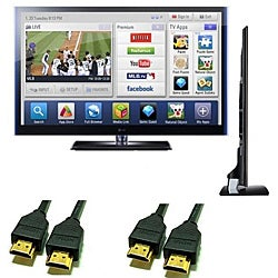 LG 42LV5500 42-inch 1080P 120HZ LED TV with 2 HDMI Cables