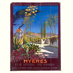 Artehouse 'Hyeres' Wood Sign