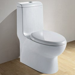 Royal 'Leeds' Ceramic Dual Flush Toilet