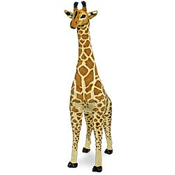 Melissa & Doug Plush Jumbo Giraffe Stuffed Animal