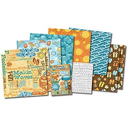 Karen Foster 'Fun In The Sun' Scrapbook Kit