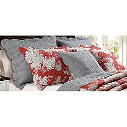 Lorraine Quilted King-size Shams (Set of 2)
