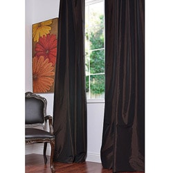 Java Faux Silk Taffeta 96-inch Curtain Panel