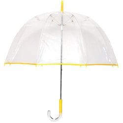 Tina T Bubble Clear/ Yellow Umbrella