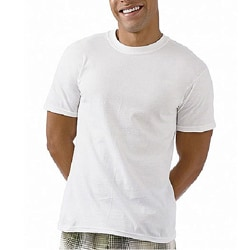 Hanes Classics Men's Big and Tall Cotton Crewneck T-shirt