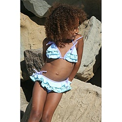 Azul Swimwear Girls 'Almost Girly' Bikini Swimsuit