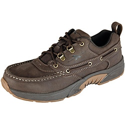 Rugged Shark Men's 'Courrier Low' Boat Shoe