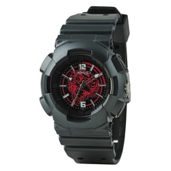 Ed Hardy Black Striker Watch