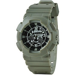 Ed Hardy Men's Silver Striker Watch