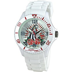Ed Hardy Women's Panther Rose Matterhorn Watch