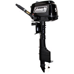Coleman 5HP Short Shaft Outboard Motor