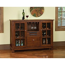 Barbera Cherry Finish Cabinet