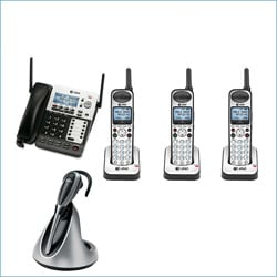 AT&T 4-line Extendable Range Corded/ Cordless Small Business Phone System