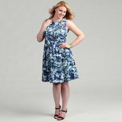 Eliza J Women's Plus Size Party Dress