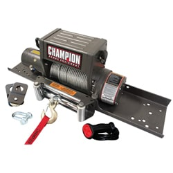 Champion 8000lb Capacity Heavy Duty Truck/ Jeep Winch Kit