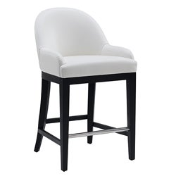 "Sunpan Haven 26"" White Counter Stool"