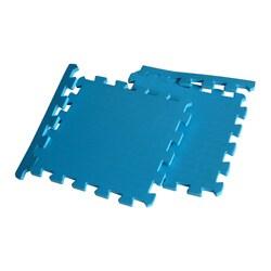 TNT Blue Foam Gym Floor Mats (Case of 24)