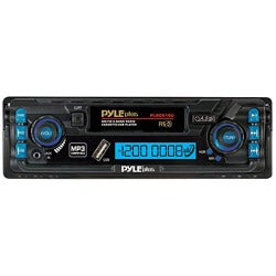 Pyle PLRC19U AM/FM 2 Band Radio Digital Car Cassette Player MP3 Compatible Built-In USB/ AUX-IN (Refurbished)