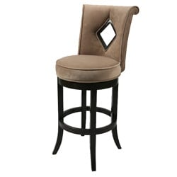 Newcastle 26-inch Wood Swivel Counter Stool