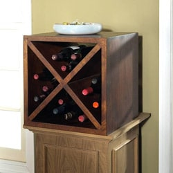 Solid Mango Wine Storage Cube