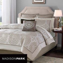 Madison Park Sausalito 6-piece King-size Duvet Cover Set