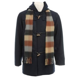 Nordic Country Big Boy's Toggle Coat and Scarf Set