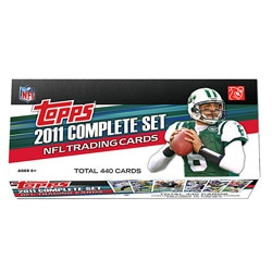 2011 Topps Football Complete Trading Card Set