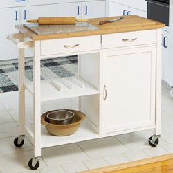 Dual Top Kitchen Island