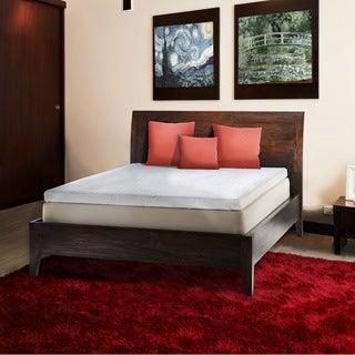 Comfort Dreams Pillow Top 14-inch King-size Memory Foam Mattress