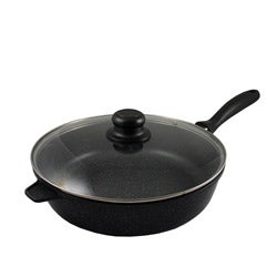 Concord 11-inch Granite Styled Cast Aluminum Chicken Fry Pan