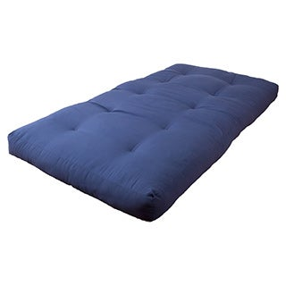 Blazing Needles Renewal Twin-size 6-inch Twill Futon Mattress