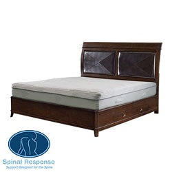 Spinal Response Aloe 11-inch Twin-size Smooth Top Memory Foam Mattress