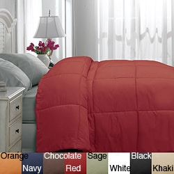 Microfiber Twin XL-size Down Alternative Comforter