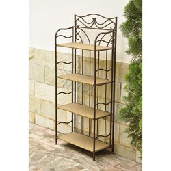 Valencia 4-tier 24-inch Wide Plant Shelf