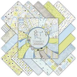Premium Paper Pad Up Up & Away Scrapbook Paper (48 Sheets)