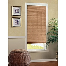 Nantucket Cordless Bamboo Roman Shade (27 in. x 72 in.)