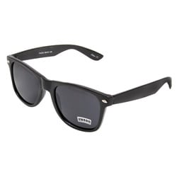 Unisex Onyx Black Fashion Sunglasses