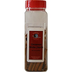 TASTE Specialty Foods 8-ounce Cinnamon Stick Jars (Pack of 4)