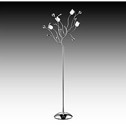 Artisan Lily Crystal Floor Lamp