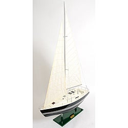 Old Modern Handicrafts 'Victory' Painted Model Yacht