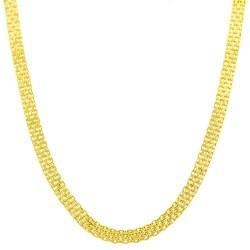 Fremada 14k Yellow Gold Bismark Chain