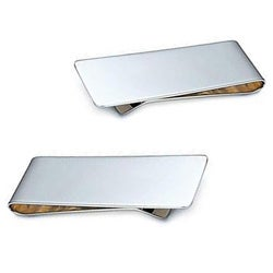 Sleek Steel Money Clip