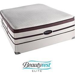 Beautyrest Elite Scott Plush Evenloft Queen-size Mattress Set