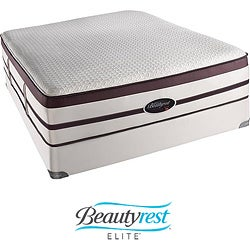 Beautyrest Elite Scott Plush Evenloft Cal King-size Mattress Set
