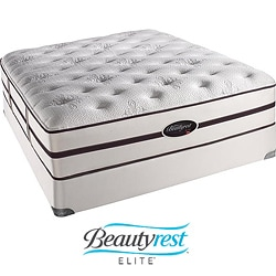 Beautyrest Elite Scott Plush Firm Cal King-size Mattress Set