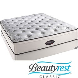 Beautyrest Classic Reece Plush Firm Euro Top Cal King-size Mattress Set