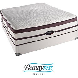 Beautyrest Elite Scott Plush Firm Evenloft King-size Mattress Set