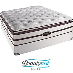 Beautyrest Elite Scott Plush Firm Super Pillow Top Queen-size Mattress Set