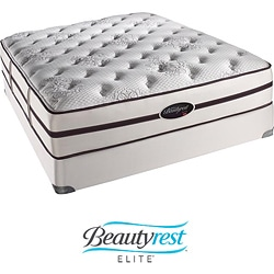 Beautyrest Elite Plato Plush Firm Cal King-size Mattress Set