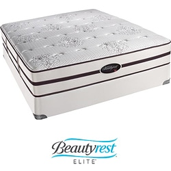 Beautyrest Elite Plato Extra Firm Cal King-size Mattress Set